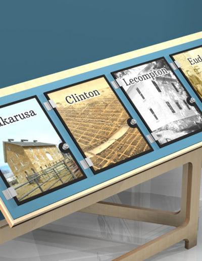 Douglas County Traveling Exhibit Interactive