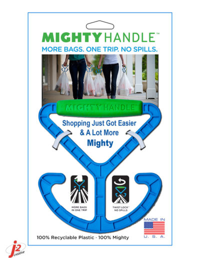 Mighty Handle Clipstrip Card