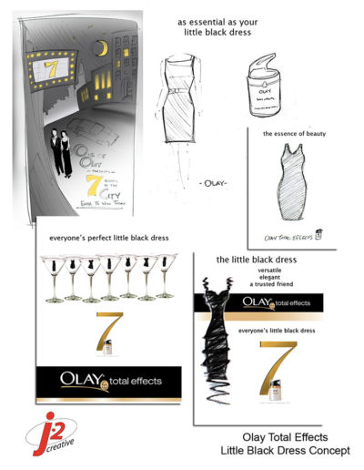 Olay Black Dress