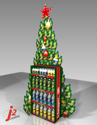 Schweppes Holiday Tree 2